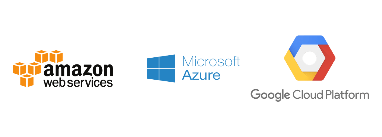 AWS, Azure, and GCP